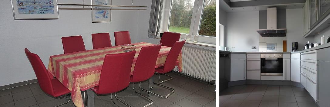 Ferienhaus Klante - Küche
