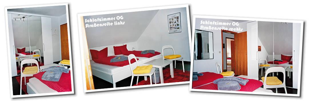 Ferienhaus Klante - Schlafzimmer