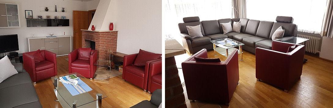Ferienhaus Klante - Wohnzimmer